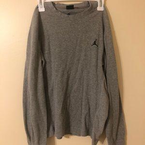Light Grey Jordan Sweatshirt